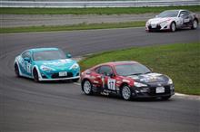 GR86/BRZ Race Rd6 観戦。