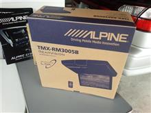 アルパイン、10.1型WSVGA リアビジョン【TMX-RM3005B】