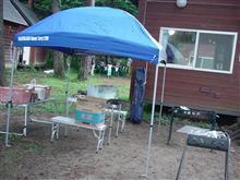 前回と比べ、どうにか雨も大丈夫だった? 島田秀平木崎湖キャンプ!!