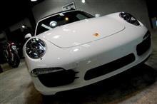 ずっと変わらないアイデンティティ。Porsche911カレラSのガラスコーティング【ラディアス川崎】