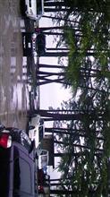 木崎湖は今日も雨だった(^_^;)…