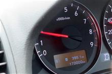 170,000kmを通過と車検前点検