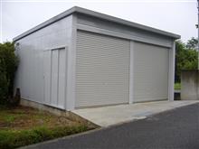 第二ガレージの完成