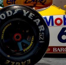 【写真】Williams Honda FW11B, FONDMETAL、Good Year, Canon