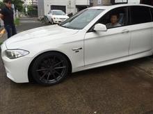 BMW 5シリーズ F10×TSW バサースト RF