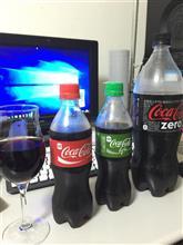 コカ・コーラの飲み比べしてみた(o^^o)