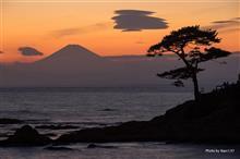 三浦半島で星撮り&立石から夕焼け富士山