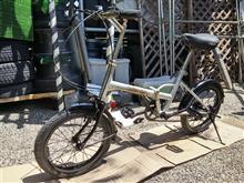 折りたたみ自転車のパンク修理