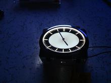 Y50フーガのアナログ時計流用準備中