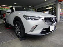 ★マツダ CX-3 マフラー交換!!