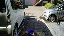 天気が良くなったので洗車ネタですが・・・