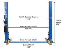 width of garage