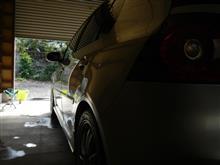 洗い残しが気になって洗車 ・・・o(▼_▼θ