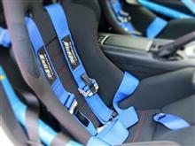 NDロードスターにHPIレーシングハーネス装着《デモカー開発》