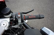 R1200S 磨り減ったグリップラバー交換