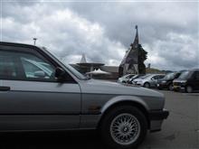 流星号(BMW E30 320i)ミドルツーリング-恐竜博物館の食い物編-