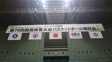 紀の国和歌山国体バスケットボール競技が終わりました