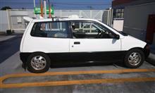 逮捕カー再始動(`∇´ゞ…タイヤ交換とバッテリー充電は明日になりました。
