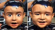 怖すぎ!絶妙なタイミングで微笑む赤ちゃんロボットが完成