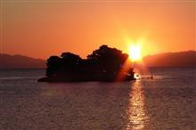 ちょっと夕陽を見に宍道湖まで