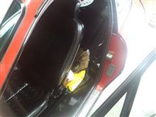 車内は蒸し風呂(^_^;)