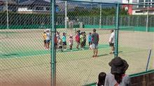 子供のテニスレッスン
