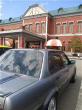 流星号(BMW E30 320i)ミドルツーリング-日本自動車博物館に展示のスカイライン-