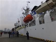 「海上保安フェスタ 2015 in 横浜」・PL31「いず」体験航海⑨
