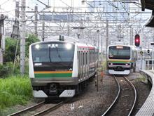 新川崎駅で少し撮影