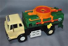 米澤玩具、フリクション走行 日野バキュームカー