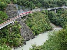 静岡県川根本町梅地(アプトいちしろ駅付近)