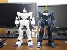 白・黒 RX-0完成