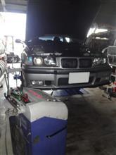 BMW E36 ATF交換