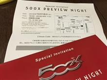 500X PREVIEW NIGHT