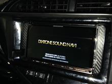 トヨタ アクア に 「DIATONE SOUND.NAVI NR-MZ100PREMI」 インストール完了!【ダイヤトーン・サウンドナビ】