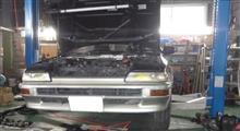 エンジン不調のAE92