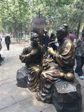 中国の街角にて