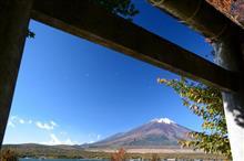 爽やか富士山