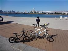 お台場サイクリングとD1