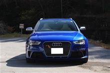Audi RS4 Avant 納車 蓼科ツーリング