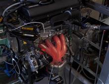 オーテック創立30周年記念車、エンジン、エンジン、エンジン・・・