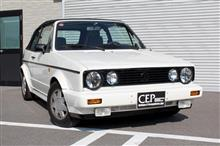 VW GOLFⅠへの製品取付のご紹介♪