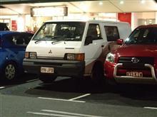 オーストラリア日本車撮影修学旅行・・・デリカ