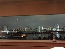 Wifeのバースデイディナー at ヒルトン東京お台場