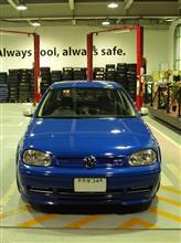 「青GTI」車検通過です