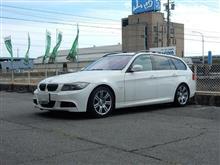 サスペンション交換 BMW E91 325 SACHSパフォーマンスプラス