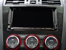DIATONE SOUND.NAVI NR-MZ100PREMI 専用 スバル車 200mmワイド USB / HDMI ポート付きパネル【WRX STI/S4 SUBARU XV IMPREZA】
