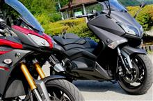 YAMAHAのバイクに乗りました(MT-09 TRACER ABS&TMAX530 ABS)