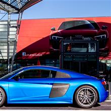 【写真】【ミュンヘン】Audi Forum Airport Munich, R8, TT, RS7