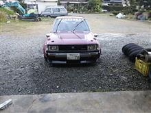 台風以来のガレージ掃除